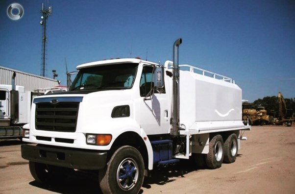 Burns Equipment Group water truck
