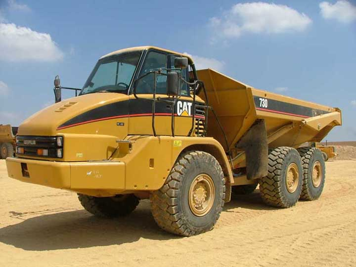CAT Articulated Dump Truck