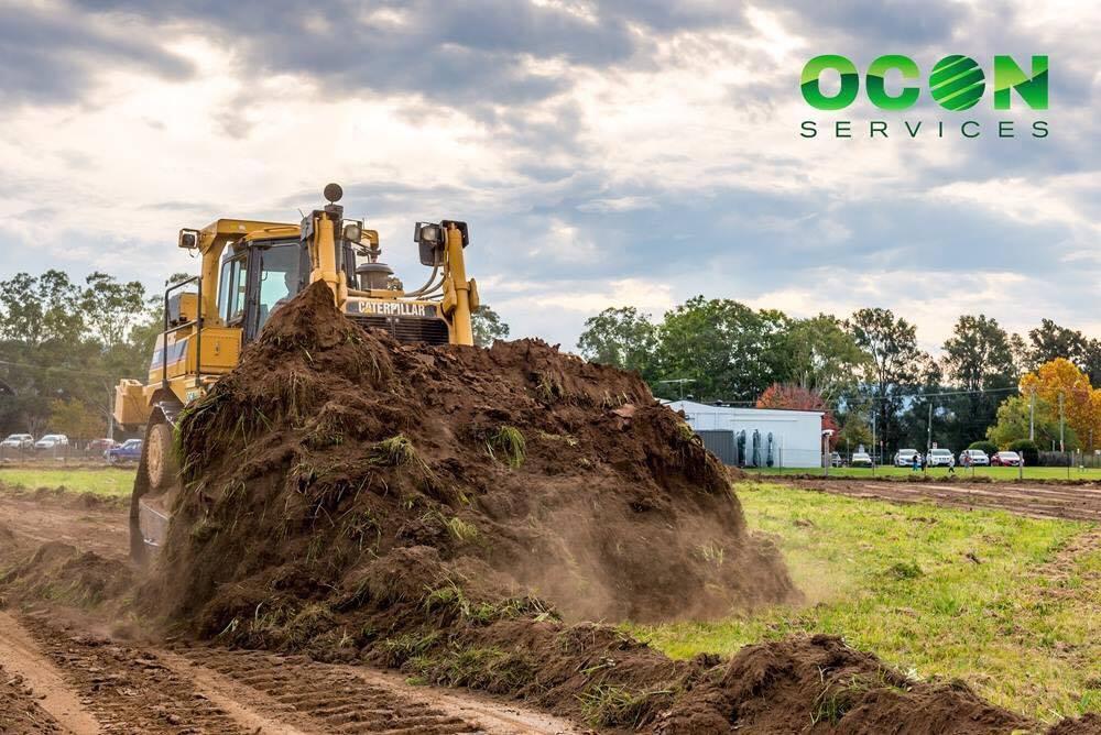 Dozer Hire | D6, D8 & D9 Dozers for Hire | OCON Services