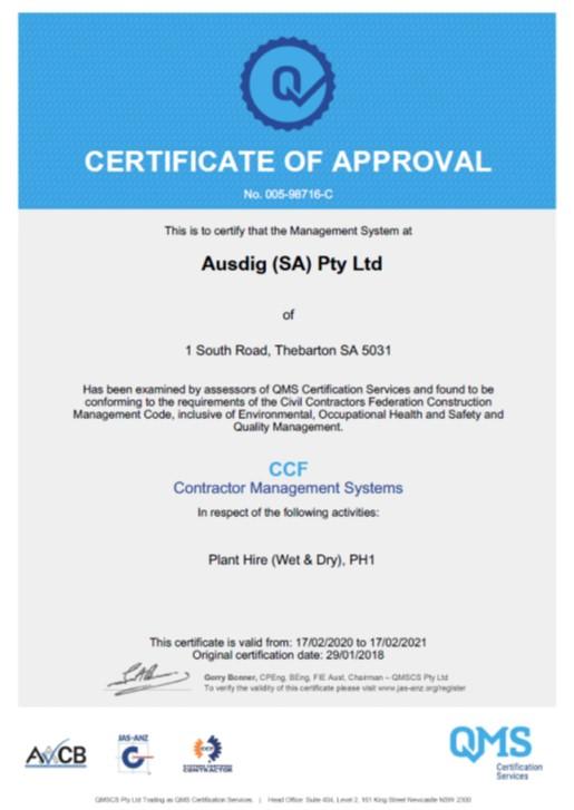 CCF-CMS-Certificate