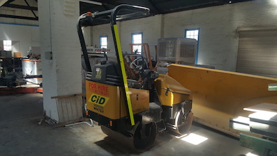 CID Services Smooth Drum Roller hire