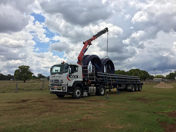 CNC-Cartage-Transport-Solutions-Extendable-Trailer-Crane-Truck-Hire-Narangba-6