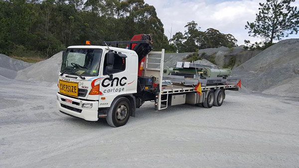 CNC-Cartage-Transport-Solutions-Flat-Bed-Crane-Truck-Hire-Narangba-9