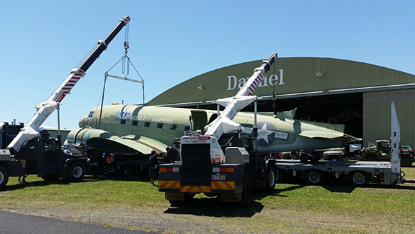 Cab-Cranes-Dual-Franna-Lifting-Plane-Caboolture
