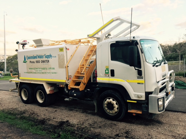 Queensland Water Supply water truck hire 15000L