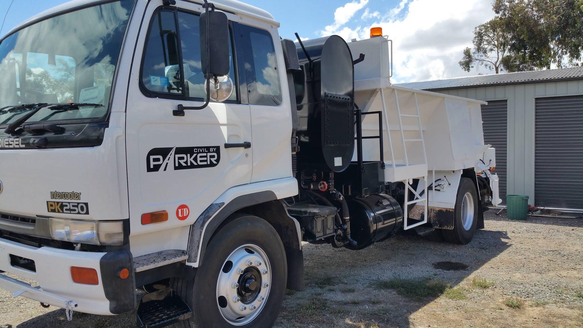 Civil by Parker - Ballarat - Belly Dumper Truck Hire