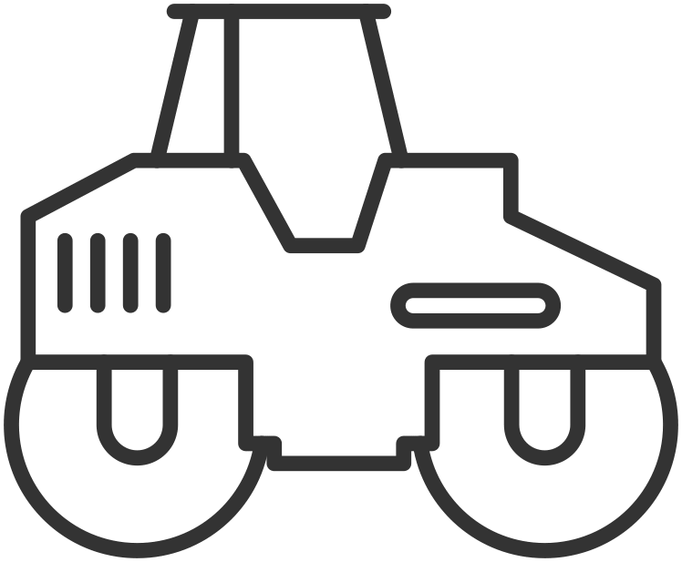Compactors and Rollers Icon