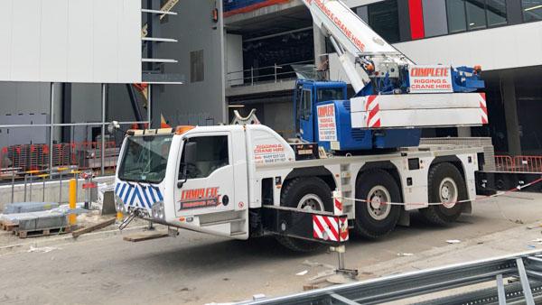 55T Mobile crane