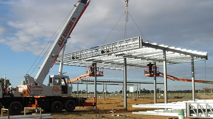 Steel Erection Services