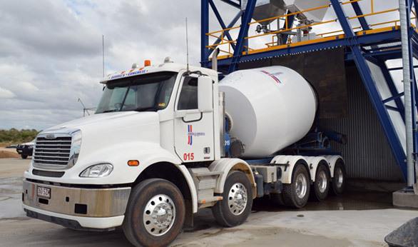 Mobile concrete batching plant for hire