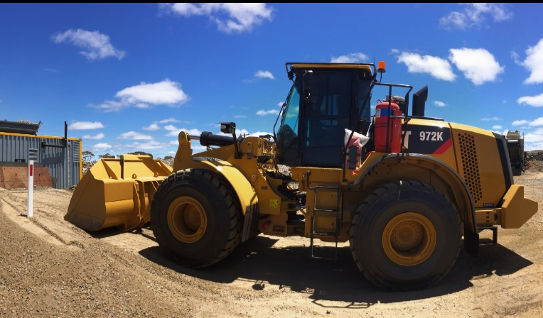 Crushing Service Solutions - Wheel Loader Hire - CAT972K