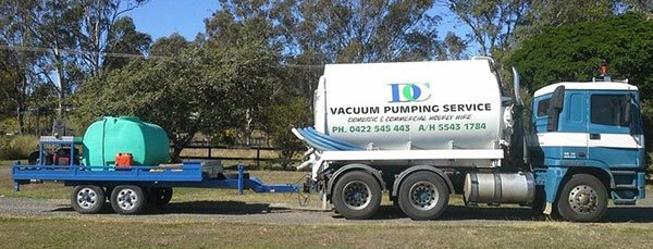 DC Vacuum Pumping Services Truck & High Presure Water Blaster