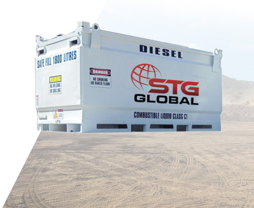 STG Global 4100L Diesel Modules for Sale