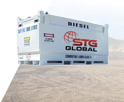 STG Global 1900L Diesel Modules for Sale