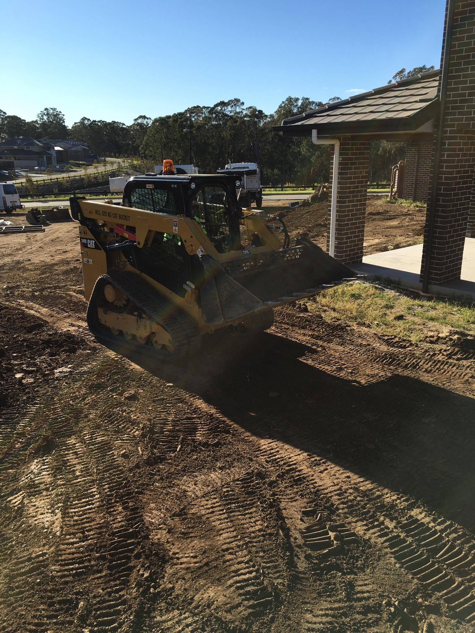 DJK Excavations - Posi Track Hire Sydney