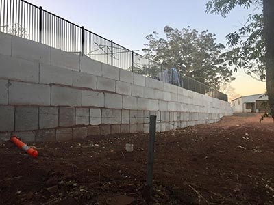 Darling-Downs-Bobcat-and-Tipper-Hire-Retaining-Wall-1-Queensland
