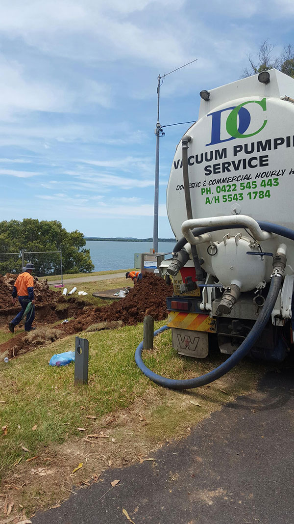 DC Vacuum Pumping Services At a standby Brisbane