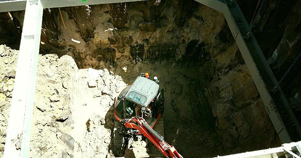 Detailed-Excavations-hole-with-compactor-Sydney