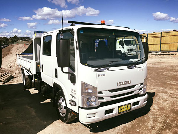 Detailed-Excavations-road-truck-isuzu-Sydney