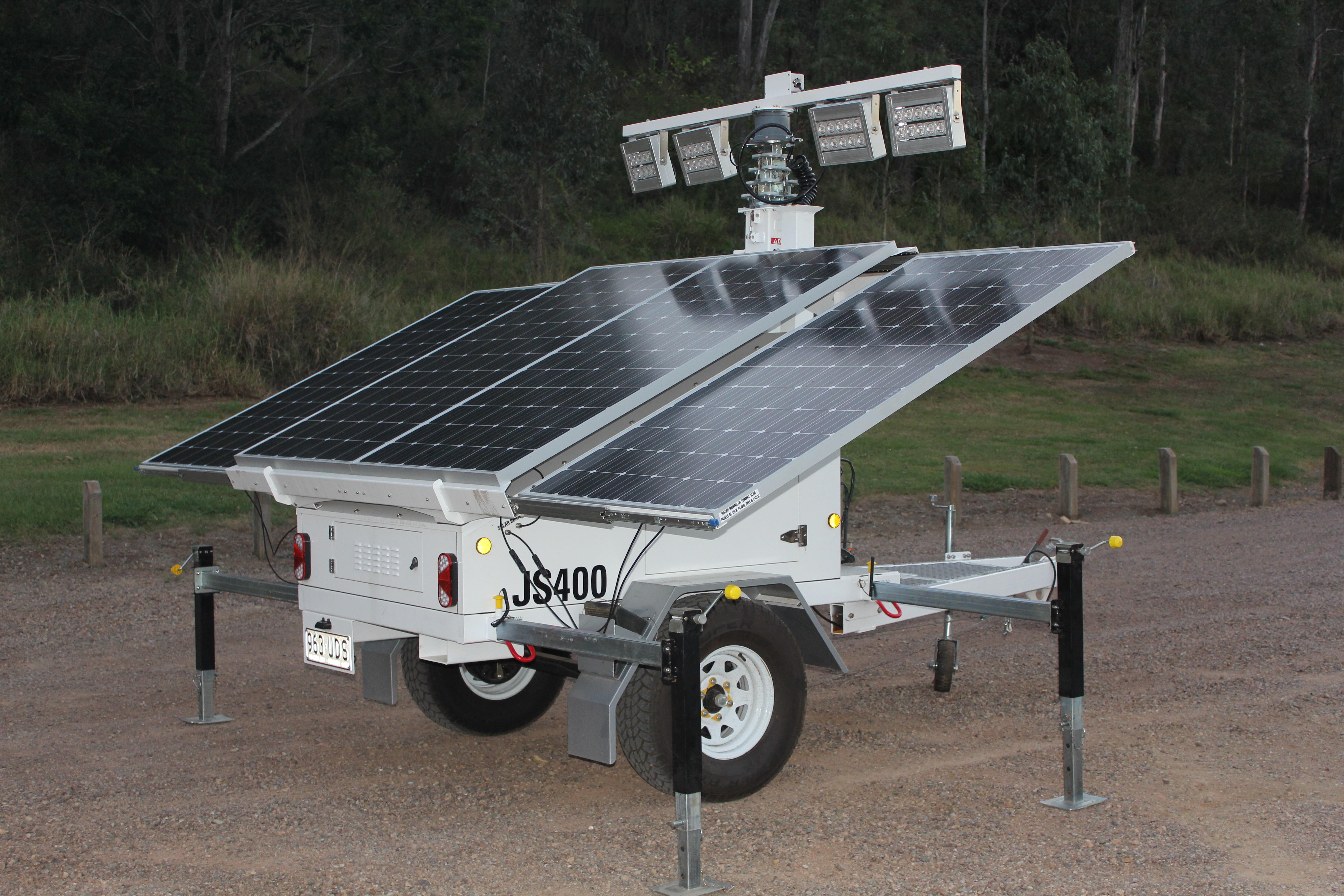 Site Light Rentals Solar Light Trailer Hire Brisbane