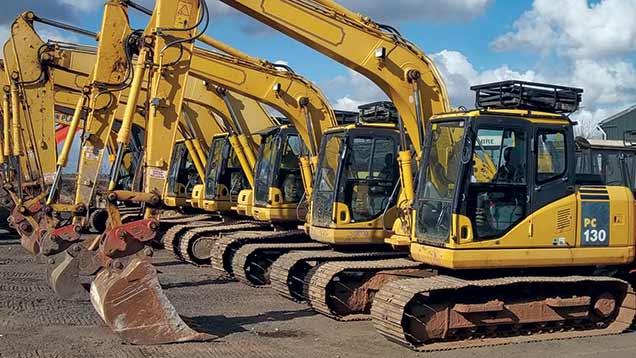 AusQuip Plant Hire Excavator for sales
