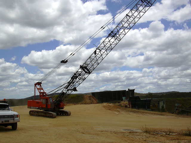 caldme excavations - dragline excavator hire