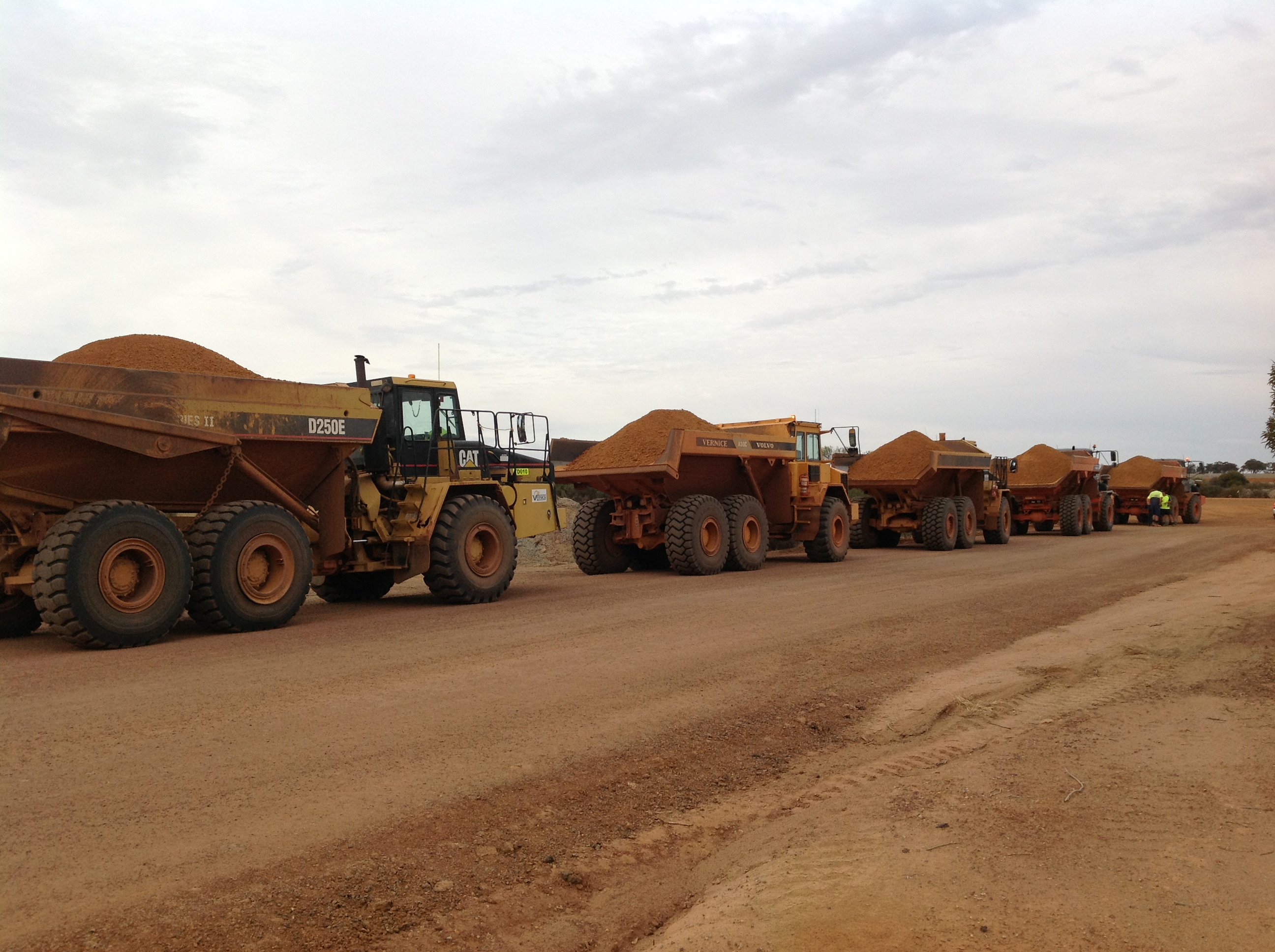 20 tonne articulated dump truck hire vernice western australia