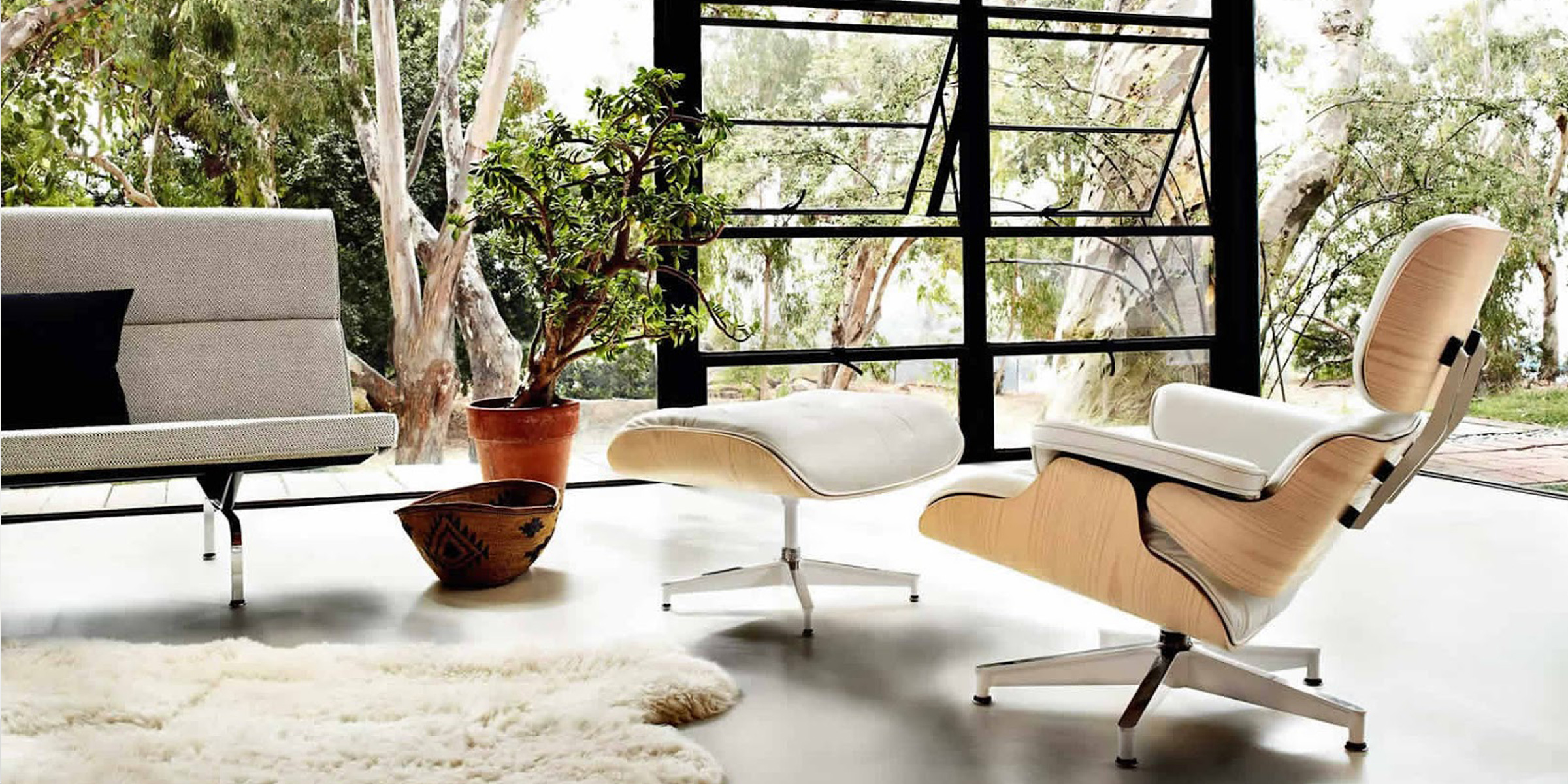 Eames Lounge Chair Living Room eames lounge chair