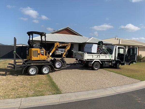 WJS Excavator Hire Brisbane North