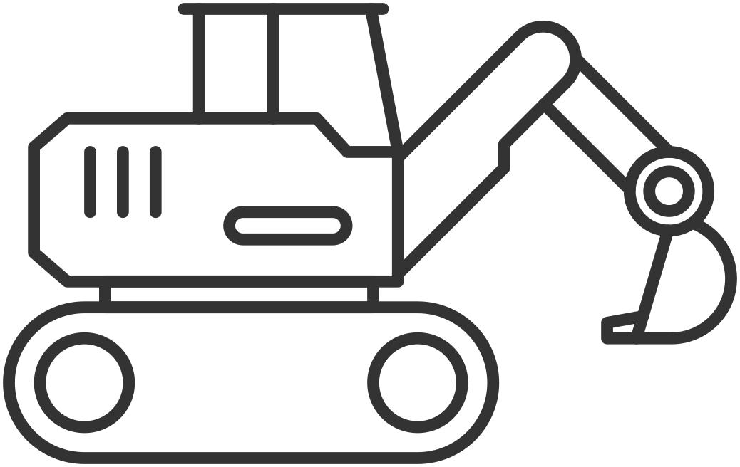Excavators Icon