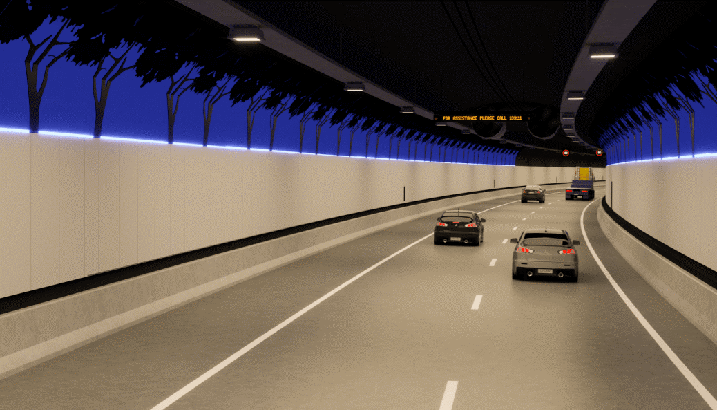 First cars enter the multimillion-dollar NorthConnex Tunnel
