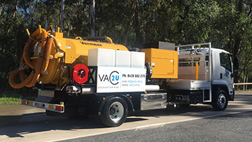 Vac2U Vermeer VSK1200HD (4000L) Unit