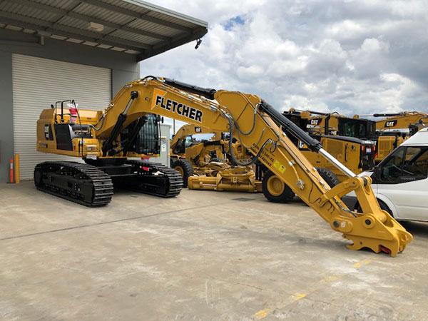 Fletcher-Bros-Solutions-excavator-hire-no-attachment-Plant-Equipment-Hire-Melbourne