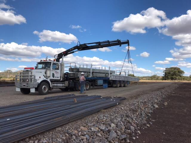 Freight Solution Australia crane truck 4
