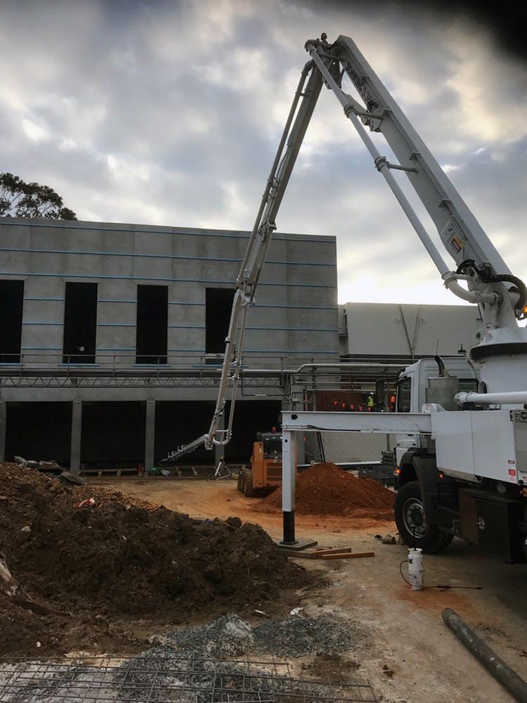Geelong Concrete Pumping - CSL Parkville Concrete Pump Service Hire - Geelong