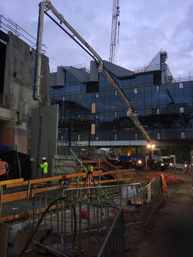 Geelong Concrete Pumping - From Dusk to Dawn Concrete Pump Service Hire - Geelong