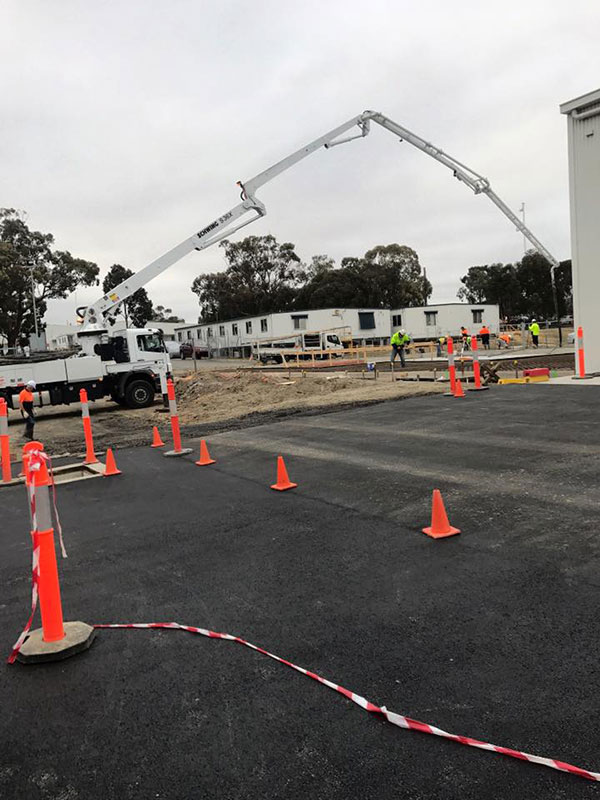 Mobile Boom Pump Hire | Geelong Concrete Pumping