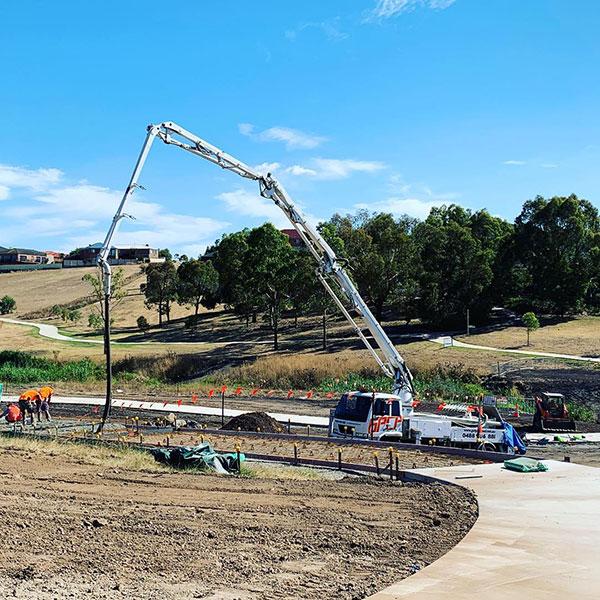 Get-Pumped-Concrete-Pumping-Foot-path-Concrete-Boom-Pump-Hire-commercial-concrete-pumping-melbourne
