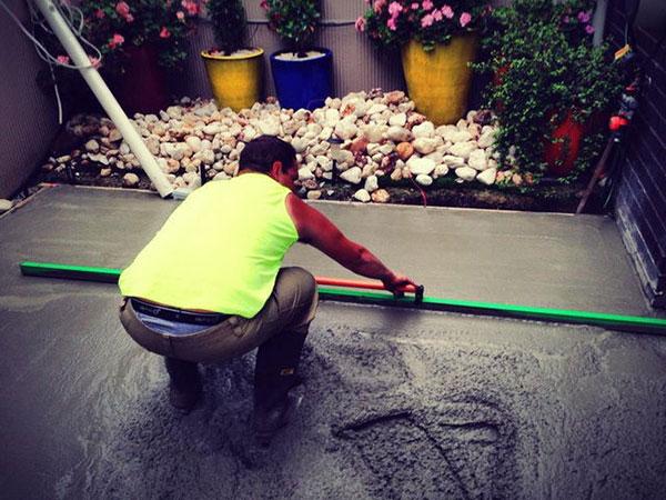 Get-Pumped-Concrete-Pumping-Garden-Path-residential-concrete-pump-hire-melbourne