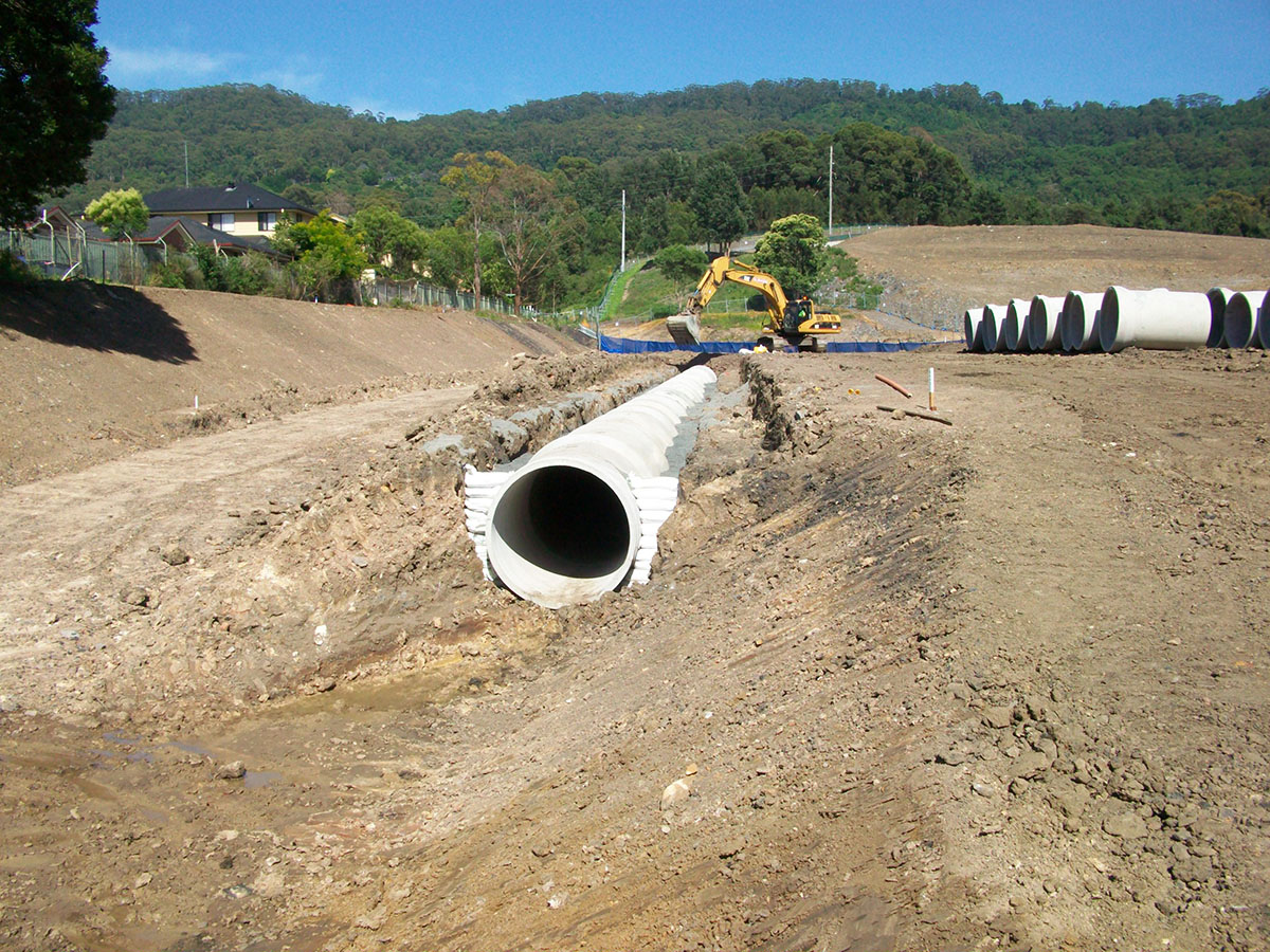 Stormwater Drainage   Civil Construction Services   Glennos