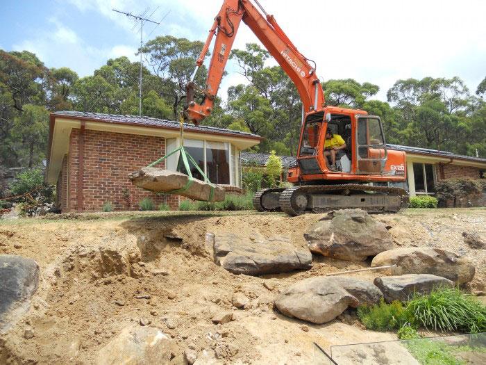 Pool Construction using Hitachi 30t Excavator