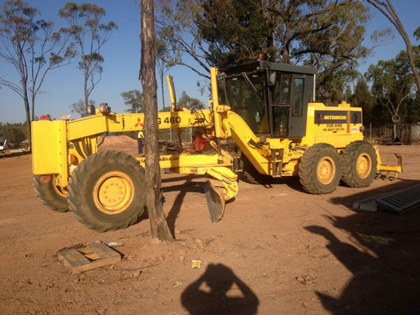 Grader Hire Darling Downs