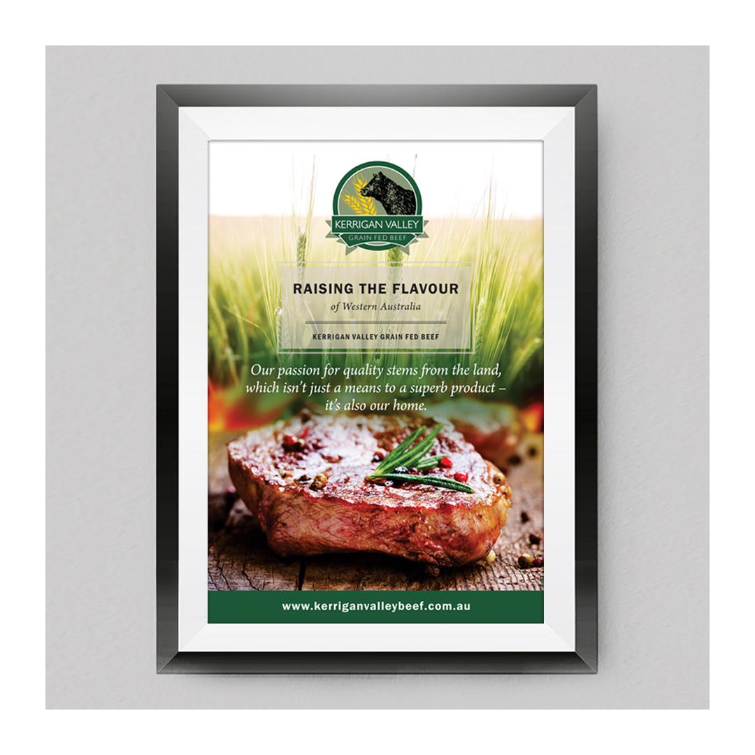 Kerrigan Valley Beef poster