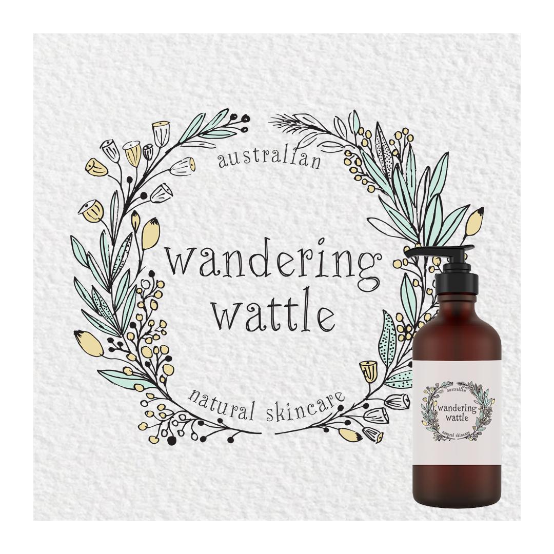 Wandering Wattle skincare logo
