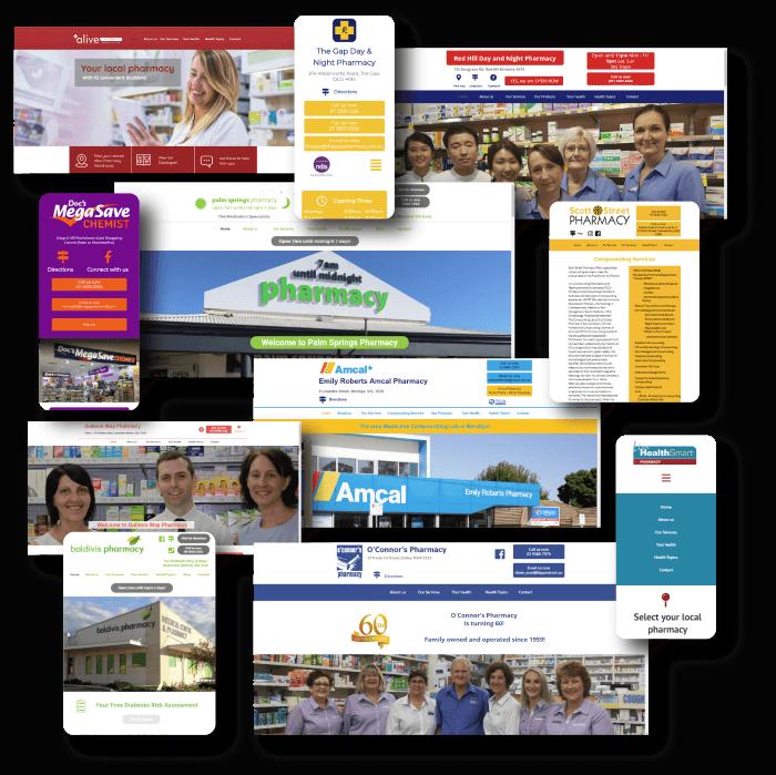 Pharmacy Websites by Guild Digital - Australian Pharmacy's budget website provider