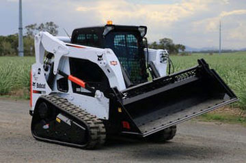 Haber-Xcavations-Mackay-bobcat-skid-steer-hire