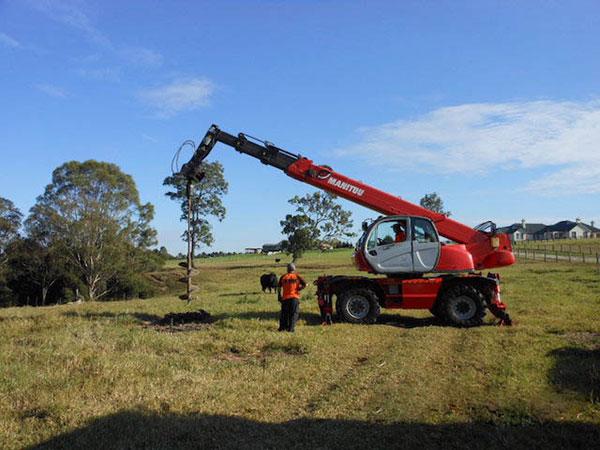Hi-Range-Crane-Hire-Telehandler-Hire-MRT-2150-auger-2-Campbelltown