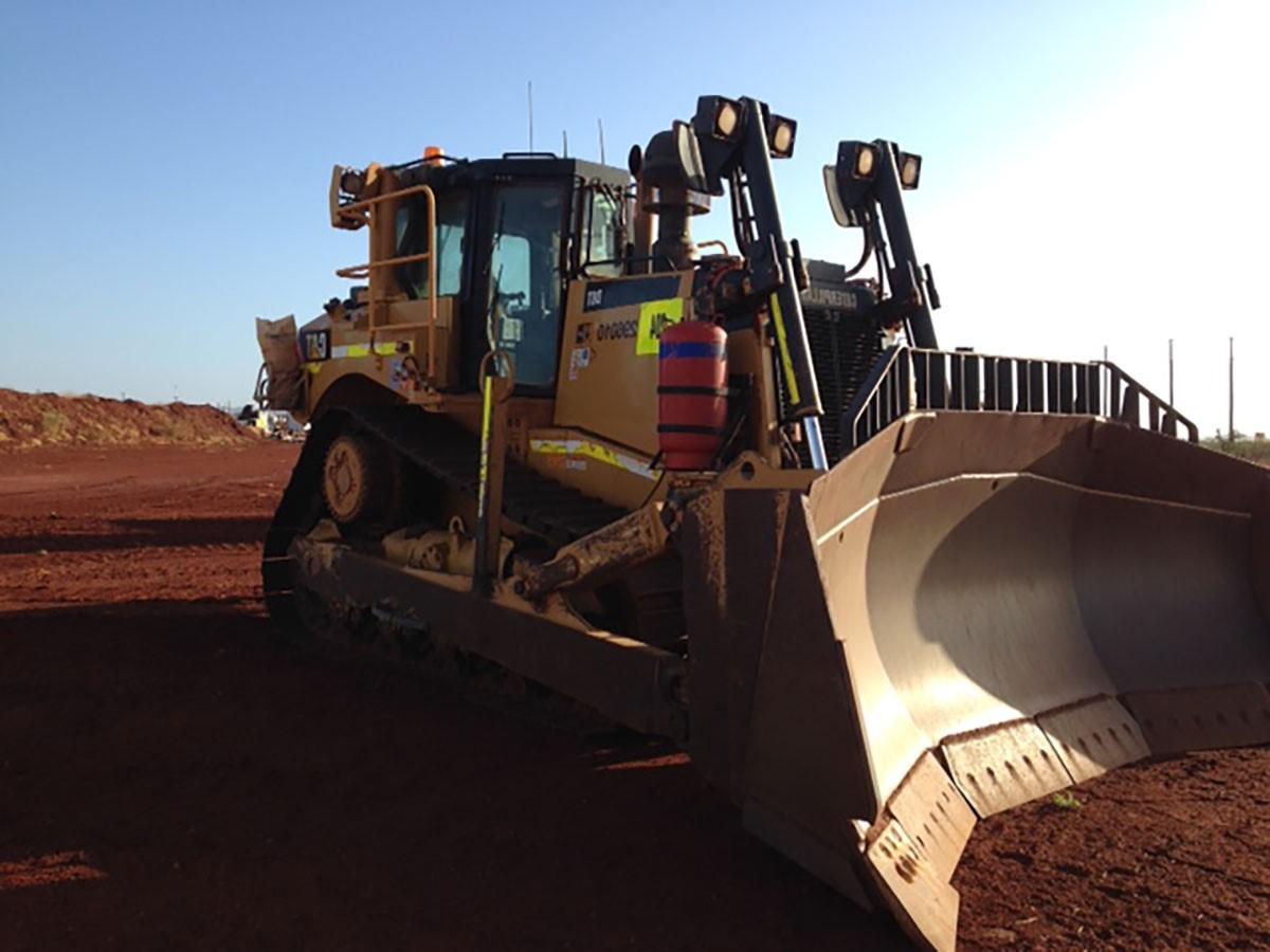 Hicks Civil and Mining Dozer Pilbara