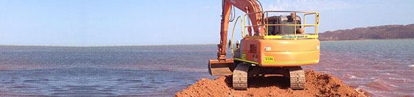 Hicks Civil and Mining Exavator Hire Pilbara