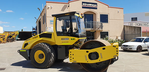 Hireways-13T-Bomag-Smooth-Roller-Perth